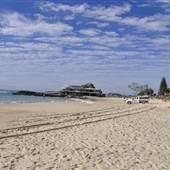 Currumbin Beach & Surf Club area